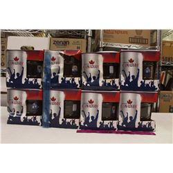 Lot of Molson Canadian Mega Keg Mugs (7)