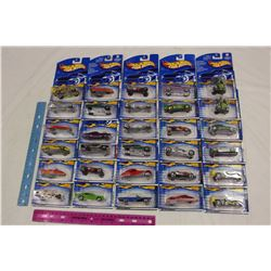 Lot of Unopened Hot Wheels Toys (30)