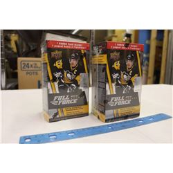 2 Sealed Boxes of 2015-16 Full Force Hockey Cards