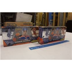 2 Sealed 2015-16 Connor McDavid UpperDeck Collections, 25 Tribute Cards