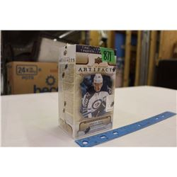 Sealed Box of 2017-18 Upper Deck Artifacts Hockey Cards