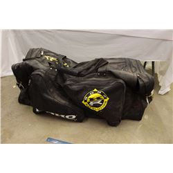 Hockey Bag w/Hockey Gear Inside(Skates,Helmet,Padding,Etc)
