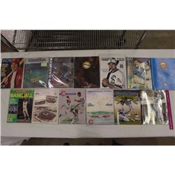 Lot of Vintage MLB Related Magazines (13)