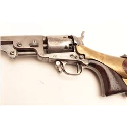 Colt 1851 Navy revolver 4 screw variation  with rare and original matching canteen  shoulder stock a