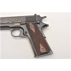 Extremely rare and desirable North American  Arms Co. Model 1911 semi-automatic pistol,  .45 caliber
