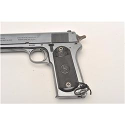 "Colt Model 1902 Military semi-automatic  pistol, .38 caliber, 6"" barrel, blued finish,  checkered ha"