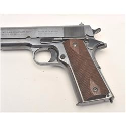 "Colt Model 1911 Government Model  semi-automatic pistol, .45 caliber, 5""  barrel, blued finish, chec"