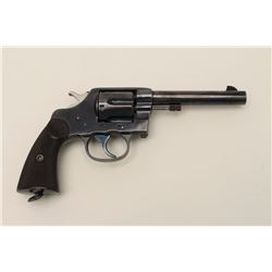Colt New Service revolver, .45 Colt caliber,  Serial #23.  The pistol is in fine to nearly  excellen