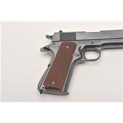 United States Property marked Colt Model  1911A-1 transition semi-automatic pistol, .45  caliber, 5""