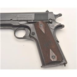 Colt Model of 1911 U.S. Army semi-auto  pistol, .45 caliber, Serial #420248.  The  pistol is in fine