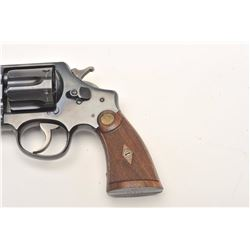 Smith and Wesson 1st Model Hand Ejector  revolver, .44 S&W Special caliber, Serial  #14480.  The pis