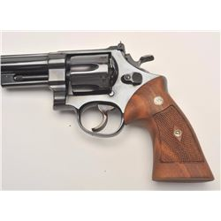 Smith and Wesson Pre-Model 25 1955 Target  revolver, .45 ACP caliber, Serial #S161675.   The pistol