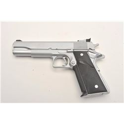 "Custom Colt MK IV Series 70 Government Model  semi-automatic pistol, .45 caliber, 5""  barrel, custom"
