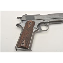 United States Property marked Colt Model 1911  semi-automatic pistol, .45 caliber,  blued  finish, c