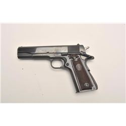 "Colt post-WW II Commercial Government Model  semi-automatic pistol, .45 caliber, 5""  barrel, blued f"