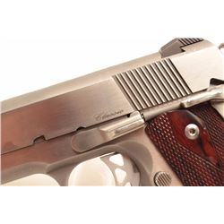 Dan Wesson Classic on 1911 design, stainless,  bob tail and target features, 10mm caliber.      (Mod