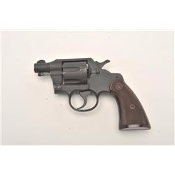 "Colt Commando Model DA revolver, flaming bomb  proofed, .38 Special caliber, 2"" barrel,  parkerized"
