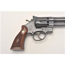 Smith and Wesson Model 1950 Hand Ejector  Target revolver, .45 Colt caliber, Serial  #S-99310.  The