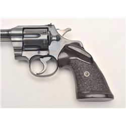 Colt Officer's Flat Top Model revolver. .38  caliber, Serial #563581.  The pistol is in  fine overal