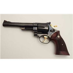 "Smith & Wesson Model 29-2 DA revolver, .44  Magnum caliber, 6.5"" pinned barrel, blued  finish, check"