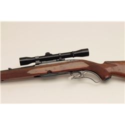 Winchester Model 88 lever action rifle, .308  caliber with vintage Lyman All American 4X  scope; swi
