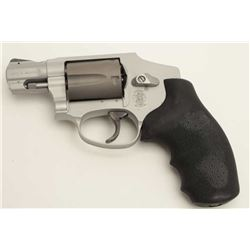 "Smith & Wesson Model 342 AirLite Ti DA  hammerless revolver, .38 Special +P Jacketed  caliber, 2"" ba"