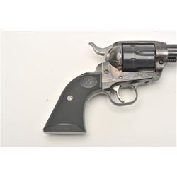 "Ruger New Vaquero single action revolver, .45  caliber, 4.5"" barrel, blued and case  hardened finish"
