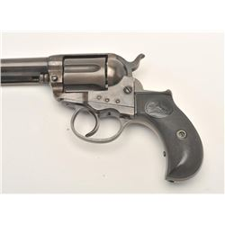 "Colt Model 1877 ""Lightning"" DA revolver, .38  caliber, 4.5"" barrel, blued and case hardened  finish,"