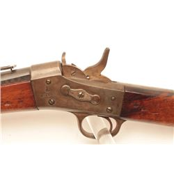 1867 Remington Rolling Block single shot  rifle, .45-70 caliber, Serial #56193.  The  rifle is in go