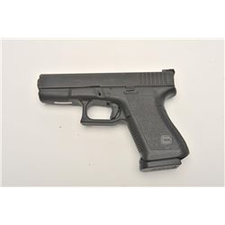 "Glock Model 23 semi-automatic pistol, .40 S&W  caliber, 4"" barrel, mat black finish,  plastic carry"