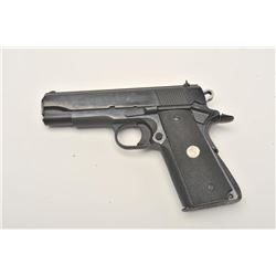 "Colt MK IV/Series 80 Combat Commander  semi-automatic pistol, .45 caliber, 4.25""  barrel, blued fini"