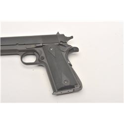 "Springfield Armory Model 1911-A1  semi-automatic pistol, .45 caliber, 5""  barrel, mat black finish,"