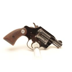 Colt Cobra revolver, .38 Special caliber,  Serial #232303.  The pistol is in fine  overall condition