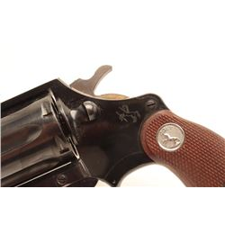 Colt Cobra revolver, .38 Special caliber,  Serial #61730.  The pistol is in very good to  nearly fin