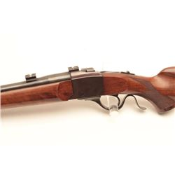 Ruger No.3 single shot rifle, 30-40 Krag  caliber, Serial #130-5777.  The rifle is in  very good ove