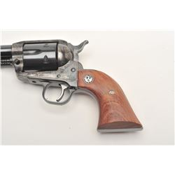 "Ruger Vaquero Model SAA revolver, .45  caliber, 5.5"" barrel, blued and case hardened  finish, wood m"