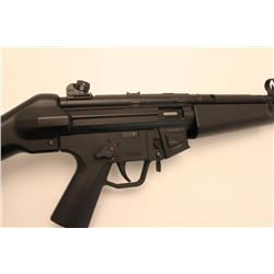 "GSG-5 semi-automatic rifle, .22LR caliber,  16"" barrel, black finish, synthetic stock,  S/N A292297,"