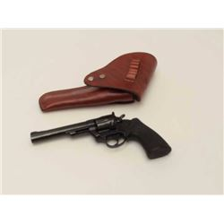 "Colt Trooper MK III revolver, single action  only, 6"" barrel, blue finish, case hardened  target ham"