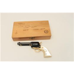 "Colt Oregon Trail Commemorative Model  Frontier Scout single action revolver, .22  caliber, 4.75"" ba"