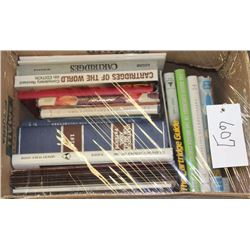 Lot of approximately 14 various reference  works on cartridges plus a number of  pamphlets; various