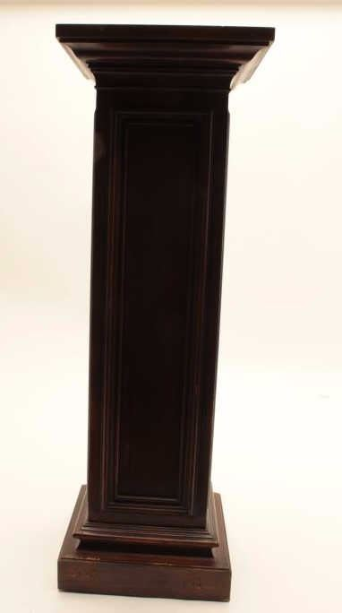 Est Image 2 Antique Pedestal Or Plant Stand Measuring Roximately 36 In Height