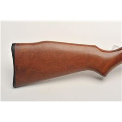 "Marlin Model 60 semi-automatic rifle, .22LR  caliber, 22"" barrel, black finish, wood  stock, S/N 174"