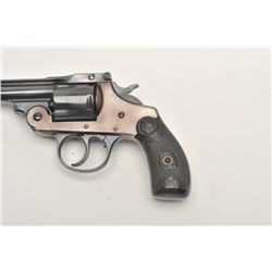 Iver Johnson revolver, approximately .38  caliber, Serial #28082.  The pistol is in  good overall co