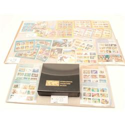 Lot of Disney memorabilia consisting of  stamps and cards showing Beauty and the  Beast, Lion King,