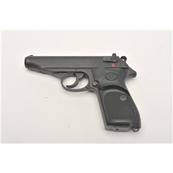 "Daewoo Model DP52 semi-automatic pistol,  .22LR caliber, 3.75"" barrel, mat black  finish, checkered"