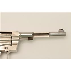 Colt Army Special revolver, .38 Special,  Serial NSNV.  A factory cut-away display  model with the r