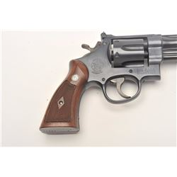 Smith and Wesson Model 1950 Hand Ejector  Target revolver, .45 ACP caliber, Serial  #S-95246.  The p