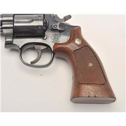 Smith and Wesson Model 19-5 revolver, .357  Magnum caliber, Serial #ANF2984.  The pistol  is in very