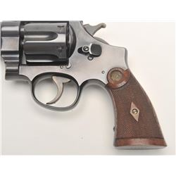 "Smith and Wesson 1st Model Hand Ejector  ""Target"" revolver, .44 S&W Special caliber,  Serial #14277."