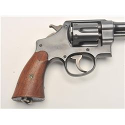 Smith and Wesson Service Model of 1917 U.S.  Army, .45 ACP caliber, Serial #28511.  The  pistol is i
